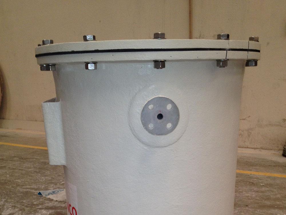 Filtro de aire PVDF+FRP