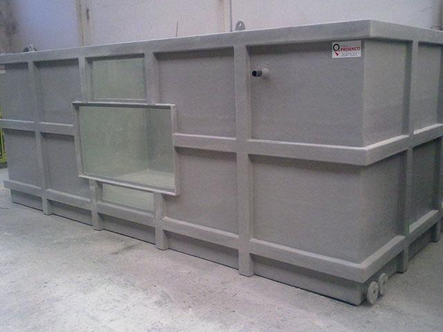 Tanque FRP 5000X2500