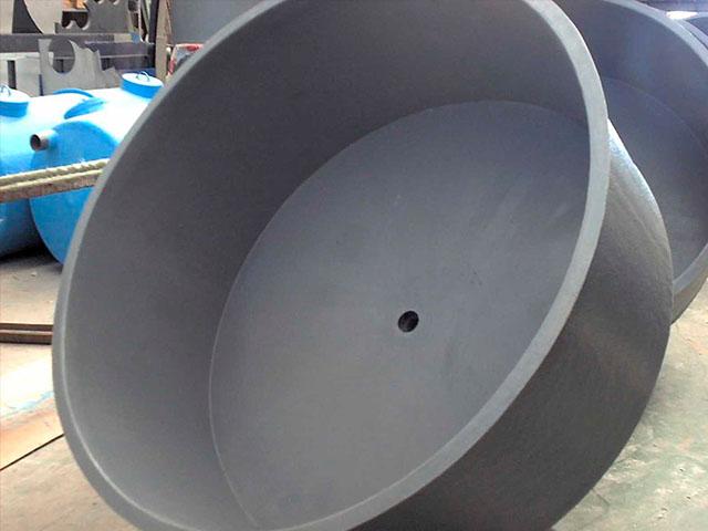 Tanque FRP cilindrico